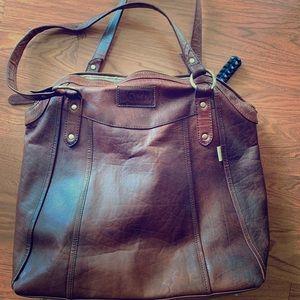 JOYN real leather tote bag